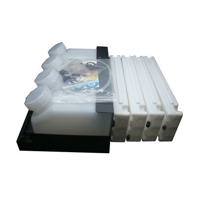 4pcs Epson Stylus SureColor S30670 / S50670 Bulk Ink System(with one-time chip)