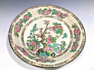 Vintage John Maddock & Sons Royal Vitreous Indian Tree Pattern Pasta Plate