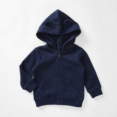 NEW Baby Zip Through Hoodie With Ears