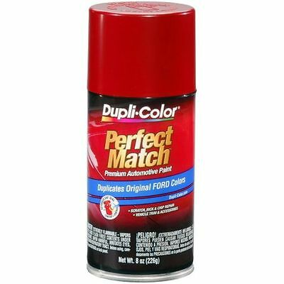 Duplicolor BFM0188 For Ford Code 2K, EU,T Candy Apple Red  Perfect Match Paint