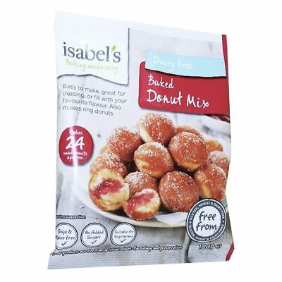 Isabel's Naturally Free From | Baked Donut Mix Gluten Free | 3 x 100g