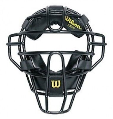(25cm , Black) - Wilson Dyna-Lite Umpire and Catcher's Face Mask. Shipping is Fr