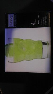 Libbey Cooler Glasses / Goblets. Shipping is Free