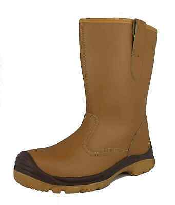 Arvello Unisex Safety Rigger Boots Metal Free Composite Toe Cap Fur Lined S1- P