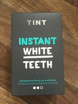 TINT Instant White Teeth  Whitening Kits Tooth Gloss