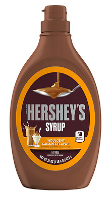 Hershey's Caramel Flavoured Syrup 623g (see description)