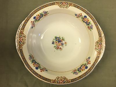 "Vintage W.h. Grindley & Co - Sheraton Ivory - Vegetable Bowl 9"" England"