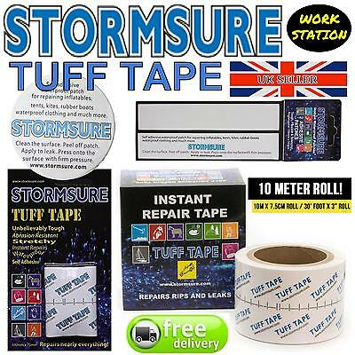 Stormsure Tuff Tape Self Adhesive Tapes & Patches Repair Mend Rips Holes Tears