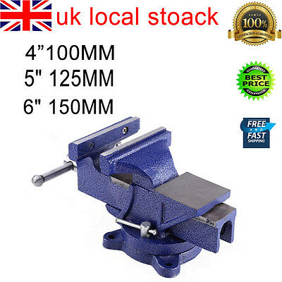 Table Bench Vice Grip Clamp 6inch 150mm Mechanic Workshop Tool Power Coating UK