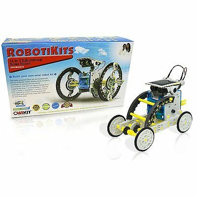OWI 14-in-1 Solar Robot NEW opened box