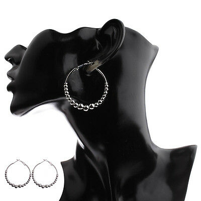 High Quality Fashion Big Women Earrings Female Bijoux Round Zinc Alloy Jewelry