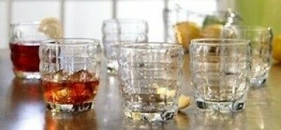 Style Setter Cubes Old Fashioned Glasses, Set of 6. Best Price