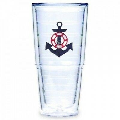 Tervis Tumbler Blue Anchor 710ml Double Wall Insulated Tumbler, Set of 2