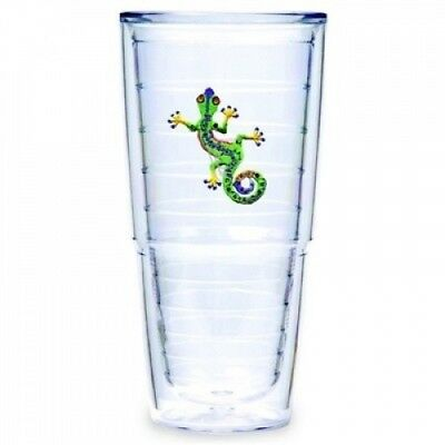Tervis Tumbler Green Gecko 710ml Double Wall Insulated Tumbler, Set of 2