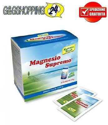 Magnesio Supremo 32 X 2,4 gr bustine Antistress Natural Point