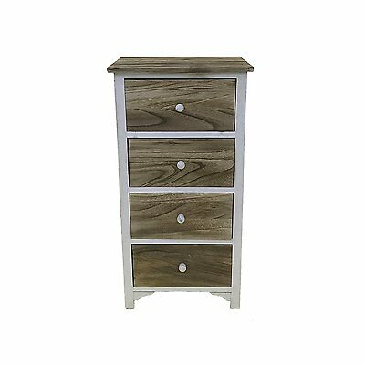Bedside table Nightstand Cabinet Chest of drawers Country-style Rustic Vintage 4