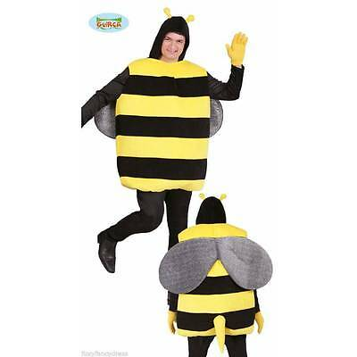Adult BUMBLEBEE Bug Killer Bee Stag Do Mens Fancy Dress Novelty Costume Outfit