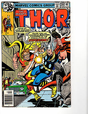 Thor #280 (2/79) FN+ (6.5) Hyperion! Great Bronze Age!