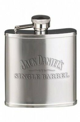 Jack Daniel's Licenced Barware Single Barrel Flask, 150ml. Brand New