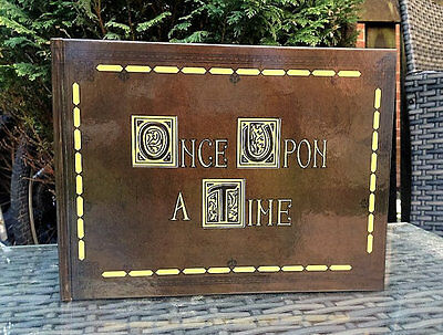 Henrys Once Upon A Time Scrapbook, Guestbook, Photo album Wedding