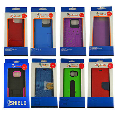Samsung Galaxy S6 Cases on CLOSEOUT Overstock SALE 50PCS Wholesale Lot