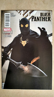 Black Panther #7 1St Print Cosplay Variant Marvel Comics (2016)