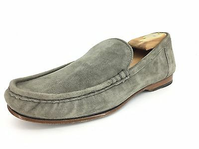 Cole Haan Men's Suede Loafers In Grey Size 9