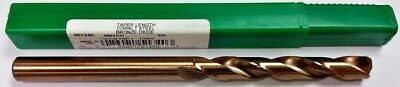 "5/8"" Cobalt Taper Length Drill, 4-7/8"" Lof, 8-3/4"" Oal, Ptd M51Co 51340"