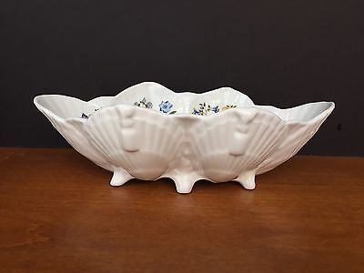 AYNSLEY Cottage Garden Fine English Bone China - 6 Footed Shell Dish/Bowl