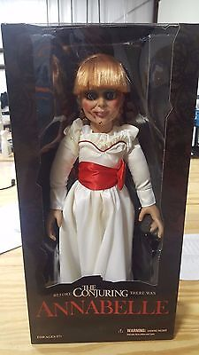 "Annabelle 18"" Prop Replica Doll, Mezco Toys, NEW in box, The Conjuring"