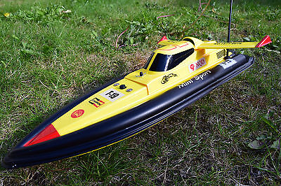 Radio Remote Control Boat T15 Mosquito Craft Tracer Rc Boat High Speed 380 Motor