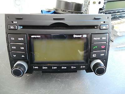 Hyundai I30 Radio/cd  Mp3/wma/aux/cd Player, With Bluetooth Type, Fd,