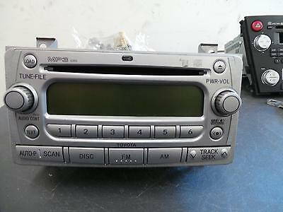Toyota Yaris Radio/cd  Cd/mp3 Player, Ncp9#, Single, 10/05- 05 06 07 0