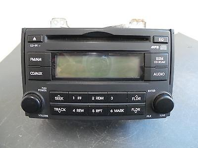 Hyundai Iload/imax Radio/cd  Radio/cd Player, Tq, Black Face, W/o Blue