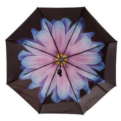 Compact Foldable Umbrella Automatic Open Close for Travel Winproof UV Protect