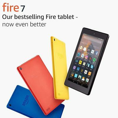 """Amazon Fire Kindle Reader Tablet 7"""" Display Wi-Fi 8/16GB Black/Yellow/Blue/Red!"""