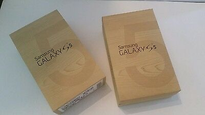 Samsung Galaxy s5 package only with instructions box