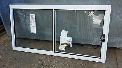 Sliding Window - 600h x 1210w Brand New w/Clear Glass - Various Colours