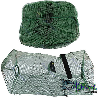 New Foldable Crab Fish Yabby Shrimp Minnow Fishing Bait Trap Fish Net Cage