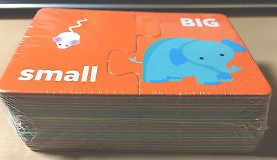 Opposite Puzzle Cards for Classroom or Homeschooling (20 sets) Pre-K-3rd - NEW!