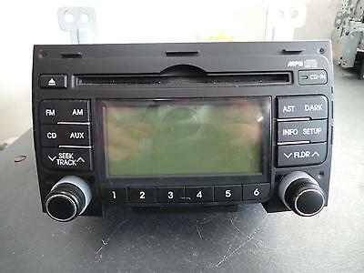 Hyundai I30 Radio/cd/dvd/sat/tv Mp3/wma/aux/cd Player, Non Bluetooth Type, Fd, 0