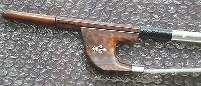 New German Style snakewood Double Bass Bow snakewood Frog 4/4 F34