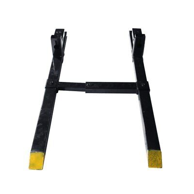 HD 2000lbs Capacity Loader Clamp on Pallet Fork Skidsteer Tractor Stabilizer Bar