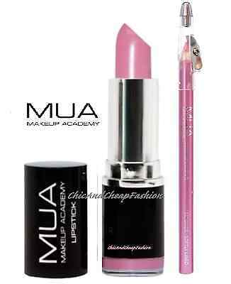 MUA Professional Makeup Academy Tulip Lipstick & Softly Lined Lip Liner Kit/Set