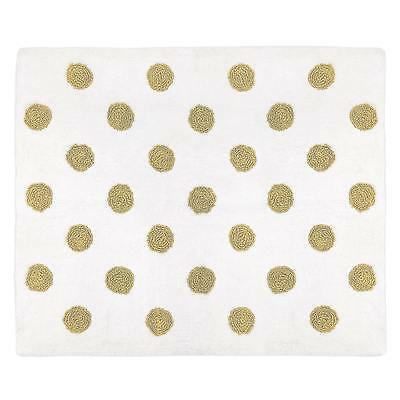 Baby Nursery Rugs Cotton Polka Dot Floor Non Slip Mat Floor Carpet Decor Kids