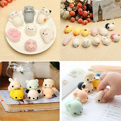 10 PCS Cute Animal Lot Slow Rising fidget toy Kawaii Random Squishy Hand Toy C