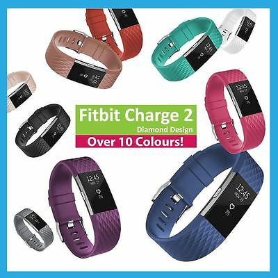 Fitbit Charge 2 Strap Band Watch Replacement Bracelet Accessory Straps - Diamond