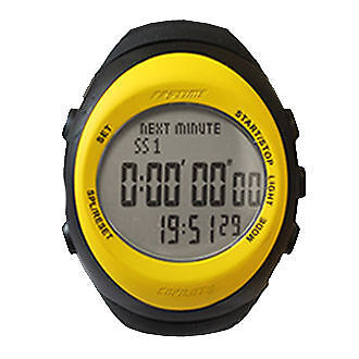 Fastime RW3 Yellow Co-Driver Wrist Watch Stopwatch Rally Watches