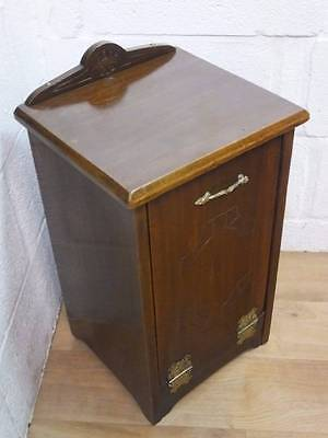Edwardian Mahogany Coal Purdonium / Bucket Cupboard.