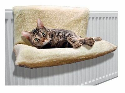 Cat Dog Radiator Bed Warm Fleece Beds Basket Cradle Hammock Animal Pet Puppy